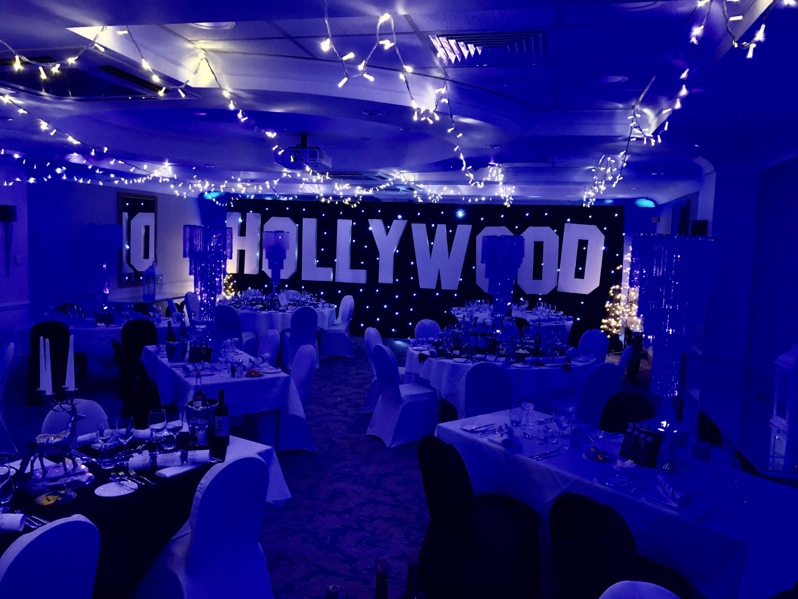 Hollywood Theme Event, Oakley Court Hotel, Windsor