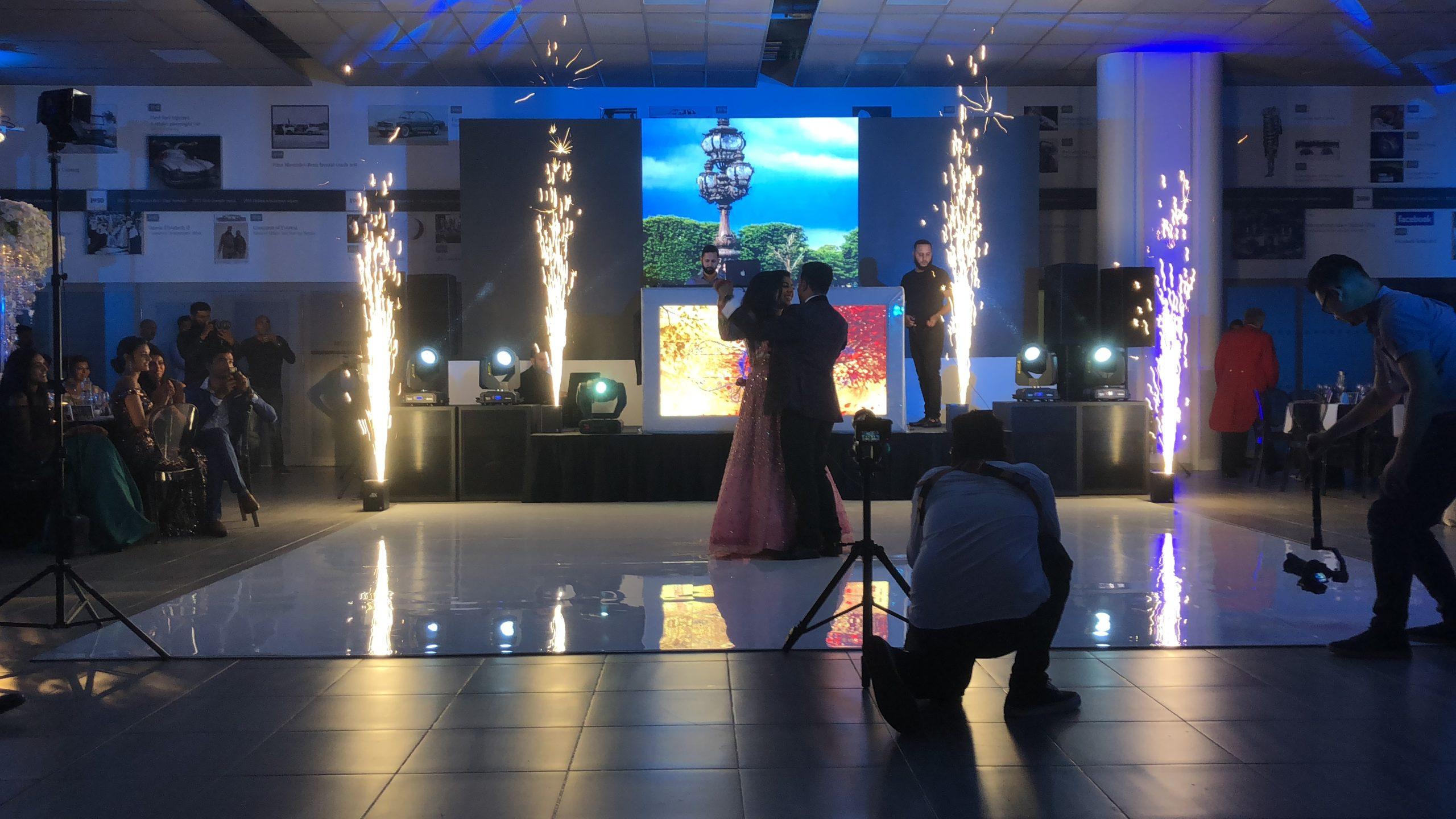 LED, Dancefloor and Sparkular at Mercedes Benz World, Weybridge, Surrey