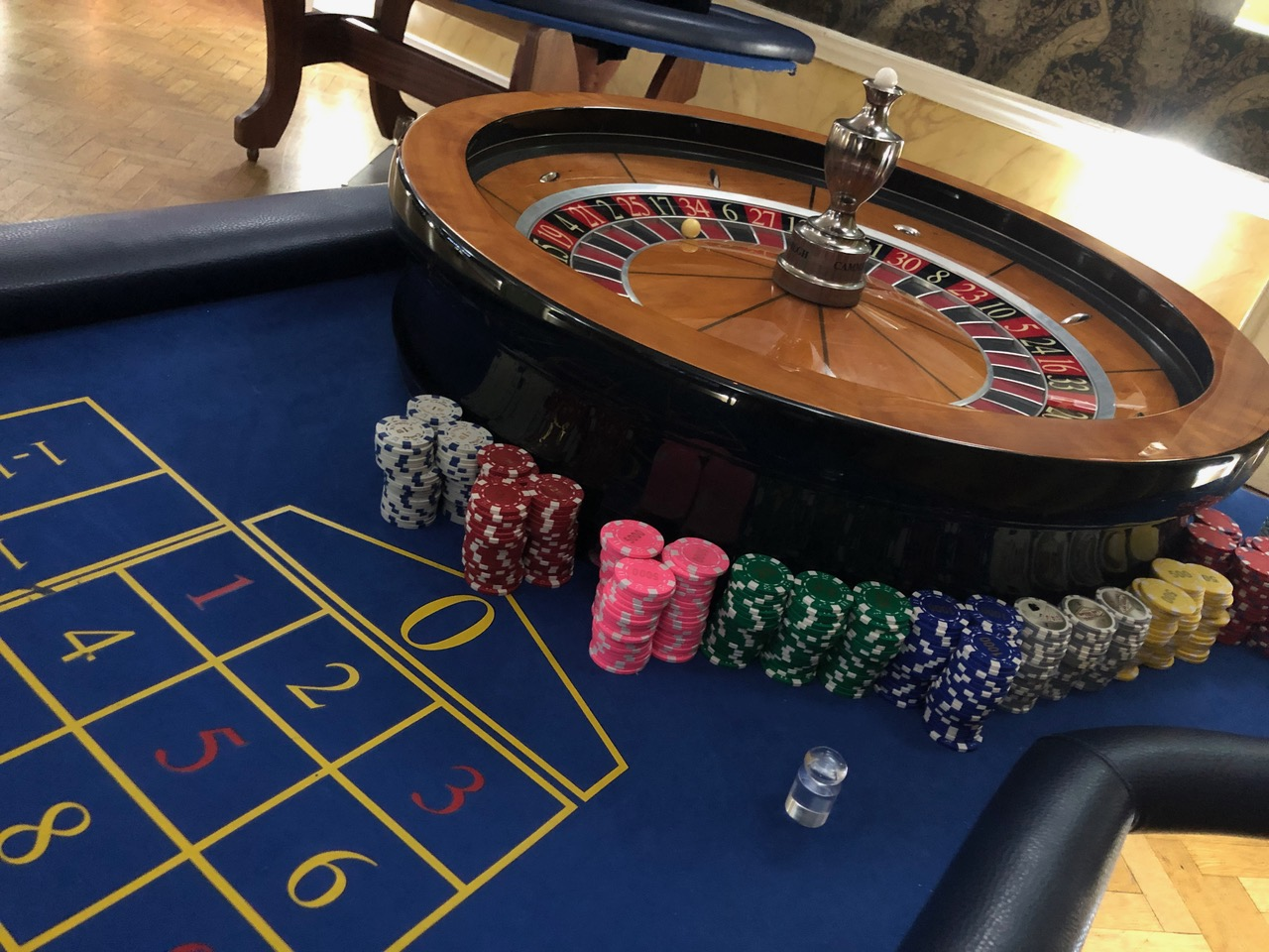 Fun Casino Tables for Weddings, Corporate Events and Parties